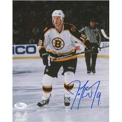 "Joe Thornton Signed Boston Bruins ""Rookie Year"" 8x10 Photo (JSA COA)"
