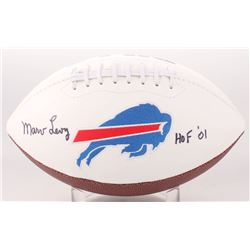 "Marv Levy Signed Buffalo Bills Logo Football Inscribed ""HOF 01"" (Jersey Source COA)"