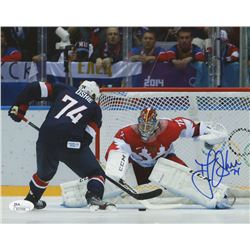 T.J. Oshie Signed Team USA 8x10 Photo (JSA COA)