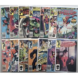 "Lot of (14) 1976-80 Marvel ""Amazing Spider-Man"" Comic Books"