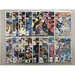 "Lot of (33) 1988-95 Marvel ""Web of Spider-Man"" 1st Series Comic Books"