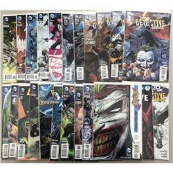 "Lot of (23) 2011-17 DC ""Batman Detective Comics"" Comic Books"