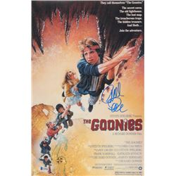 Richard Donner Signed The Goonies 11x17 Movie Poster Photo (Beckett COA)