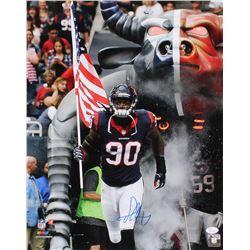 Jadeveon Clowney Signed Houston Texans 16x20 Photo (JSA COA)