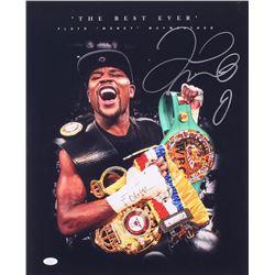 Floyd Mayweather Jr. Signed 16x20 Photo (JSA COA)