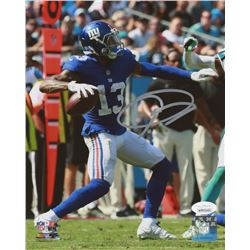Odell Beckham Jr. Signed New York Giants 8x10 Photo (JSA COA)