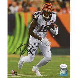 A.J. Green Signed Cincinnati Bengals 8x10 Photo (JSA COA)