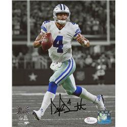 Dak Prescott Signed Dallas Cowboys 8x10 Photo (JSA COA  Prescott Hologram)