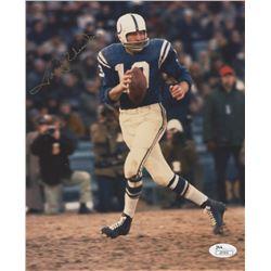 Johnny Unitas Signed Baltimore Colts 8x10 Photo (JSA COA)