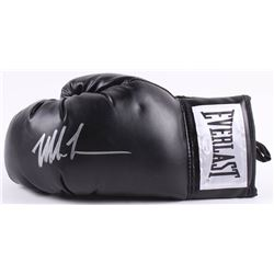 Mike Tyson Signed Everlast Boxing Glove (JSA COA)