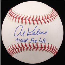 "Al Kaline Signed OML Baseball Inscribed ""Tiger For Life"" (JSA COA)"