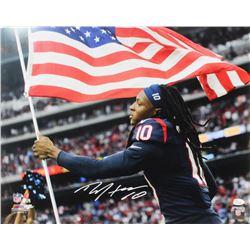 DeAndre Hopkins Signed Houston Texans 16x20 Photo (JSA COA)