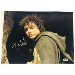 """Elijah Wood Signed """"The Lord of the Rings"""" 11x14 Photo (PSA COA)"""