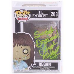 "Linda Blair Signed ""Regan"" #203 The Exorcist Funko Pop Movies Vinyl Figure Inscribed ""Sweet Dreams!"""