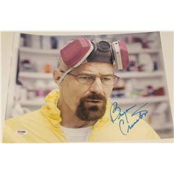 "Bryan Cranston Signed ""Breaking Bad"" 11x14 Photo (PSA COA)"