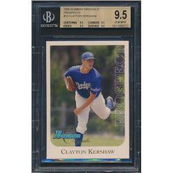 2006 Bowman Originals Prospects #13 Clayton Kershaw (BGS 9.5)