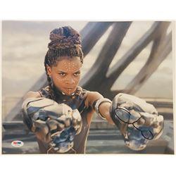 """Letitia Wright Signed """"Black Panther"""" 11x14 Photo (PSA COA)"""