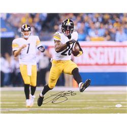 Le'Veon Bell Signed Pittsburgh Steelers 16x20 Photo (JSA COA)