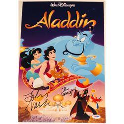 "John Musker  Ron Clements Signed 12x18 ""Aladdin"" Photo (PSA COA)"