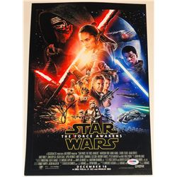 "J.J. Abrams Signed ""Star Wars: The Force Awakens"" 12x18 Photo (PSA COA)"