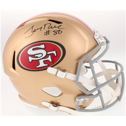 Jerry Rice Signed San Francisco 49ers Full-Size Speed Helmet (Radtke COA)
