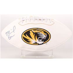 Michael Sam Signed Missouri Tigers Logo Football (Radtke COA)