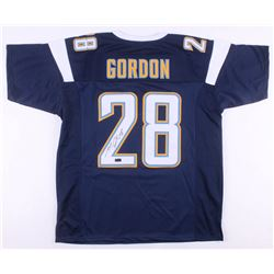 Melvin Gordon Signed Los Angeles Chargers Jersey (Radtke COA)