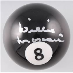 Willie Mosconi Signed #8 Pool Ball (Beckett COA)
