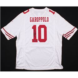 new products ce3cd 322be Jimmy Garoppolo Signed San Francisco 49ers Jersey (TriStar ...
