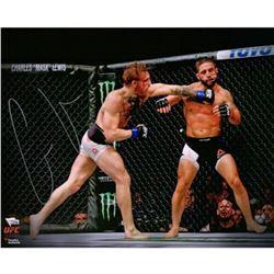 """Conor McGregor Signed """"UFC 189 Mendez KO"""" 16x20 Photo (Fanatics Hologram)"""