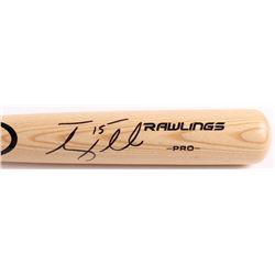 Tim Tebow Signed Rawlings Pro Baseball Bat (Tebow COA)