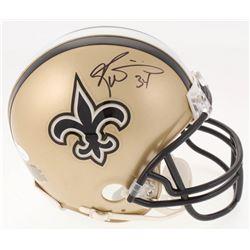 Ricky Williams Signed New Orleans Saints Mini Helmet (JSA COA)