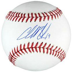 Charlie Blackmon Signed OML Baseball (Fanatics Hologram  MLB Hologram)