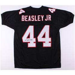 Vic Beasley Signed Atlanta Falcons Jersey (JSA COA)