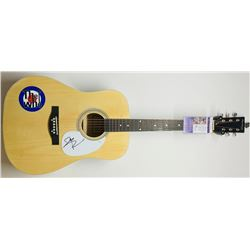 "Pete Townshend Signed ""The Who"" Full-Size Acoustic Guitar (JSA COA)"