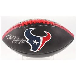 DeAndre Hopkins Signed Houston Texans Logo Football (JSA COA)