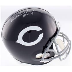 """Dick Butkus Signed Chicago Bears Throwback Full-Size Helmet Inscribed """"HOF 79"""" (JSA COA)"""