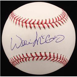 Willie McCovey Signed OML Baseball (PSA COA)