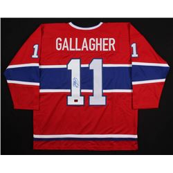 Brendan Gallagher Signed Montreal Canadiens Jersey (Gallagher COA)