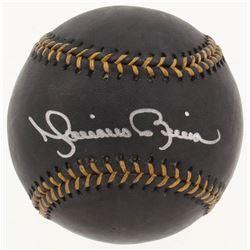 Mariano Rivera Signed OML Black Leather Baseball (Steiner COA)