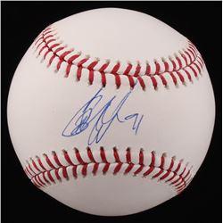 Cameron Wake Signed OML Baseball (JSA COA)