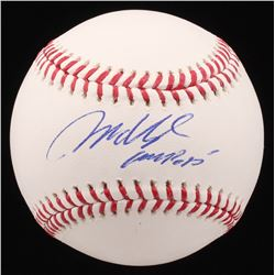 Mo Vaughn Signed OML Baseball (JSA COA)