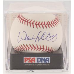 Willie McCovey Signed OML Baseball with Display Case (PSA COA - Graded 9)