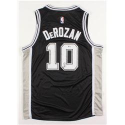 DeMar DeRozan Signed San Antonio Spurs Jersey (Beckett COA)