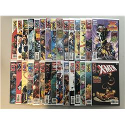 "Lot of (30) 1997-1999 Marvel ""Uncanny X-Men"" 1st Series Comic Books with #353-393"