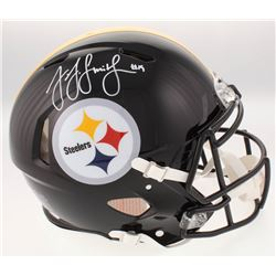 JuJu Smith-Schuster Signed Pittsburgh Steelers Full-Size Authentic On-Field Speed Helmet (JSA COA)
