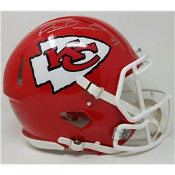 "Patrick Mahomes Signed Kansas City Chiefs Limited Edition Full-Size Speed Helmet Inscribed ""18 MVP"""