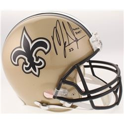 """Mark Ingram Signed New Orleans Saints Full-Size Authentic On-Field Helmet Inscribed """"Who Dat!"""" (Radt"""