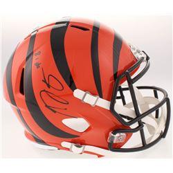 A.J. Green Signed Cincinnati Bengals Full-Size Speed Helmet (JSA COA)