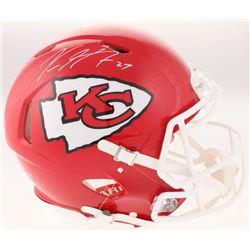 Kareem Hunt Signed Kansas City Chiefs Full-Size Authentic On-Field Speed Helmet (JSA COA)